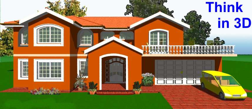 Myhouse progetto casa in 3 d a colori for My house design