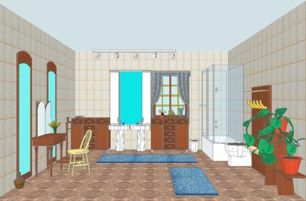 Myhouse para windows bibliotecas amplia de objetos 3d for My house design software