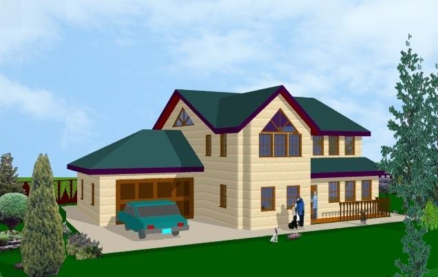 Myhouse dise e su propia casa y rec rrala en 3d a todo color for My house design software